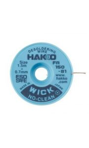 Hakko WICK No Clean 0.7mm x 1.5m Desolder braid