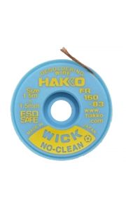 Hakko WICK No Clean 1.5mm x 1.5m Desolder braid