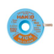 Hakko WICK No Clean 0.3mm x 1.5m Desolder braid