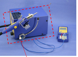 Examples of use in combination with HAKKO FG-100 and HAKKO FR-803B