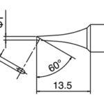 HAKKO T18-C1 Bevel Tip