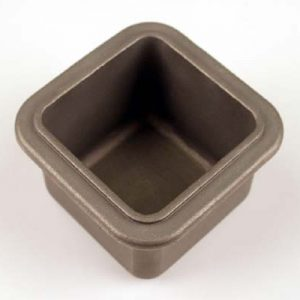 A1539 50 x 50mm Crucible Pot 50mm x 50mm