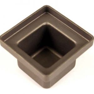 A1540 75 x 75mm Crucible Pot 75mm x 75mm