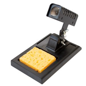 C1100 Iron Holder with Cleaning Sponge