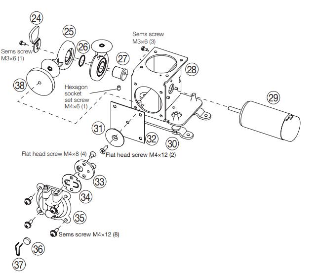photo:FM-204 Pump Assembly (B3427)