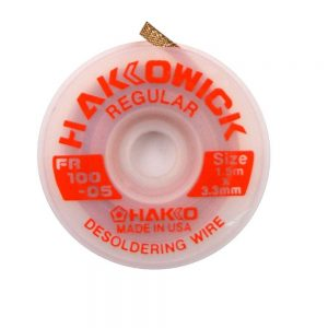 Hakko WICK Regular 3.3mm x 1.5m Desolder braid