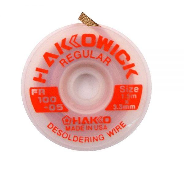 Hakko WICK Regular 3.3mm x 1.5m Desolder braid
