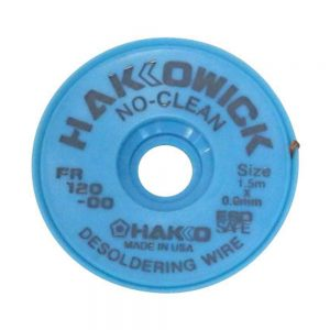 Hakko WICK No Clean 0.6mm x 1.5m Desolder braid