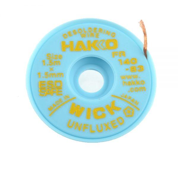 HAKKO WICK Unfluxed 1.5mm x 1.5m Desolder braid