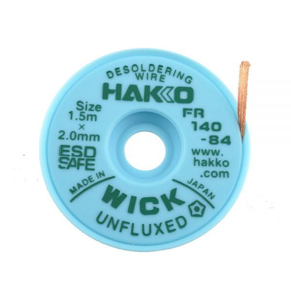 HAKKO WICK Unfluxed 2.0mm x 1.5m Desolder braid