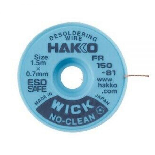 Hakko WICK No Clean 0.7mm x 1.5m Desolder braid