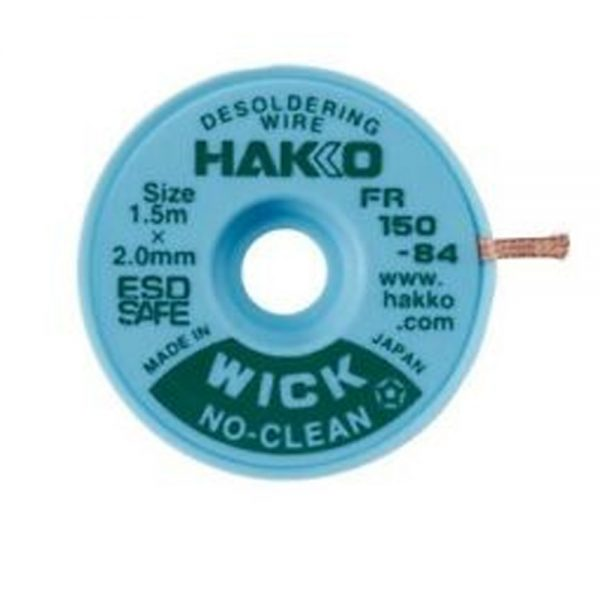 Hakko WICK No Clean 2.0mm 1.5m Desolder braid