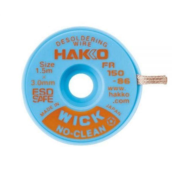 Hakko WICK No Clean 0.3mm x 1.5m Desolder braid