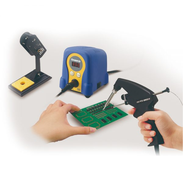 FX8803 One Handed Soldering Iron with Solder Feed