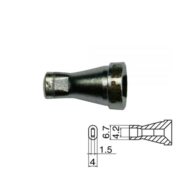 N60-08 Desoldering Nozzle 4.2x1.5mm