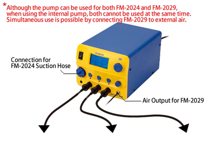 FM206-18 Multi-port Combined Soldering, Desoldering and SMD Rework Station