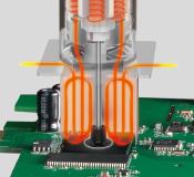 New type of nozzles for improvement of temperature characteristics