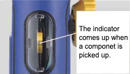 Pickup indicator
