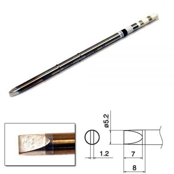 T15-D52 Chisel Soldering Tip 5.2mm x 7mm x 8mm