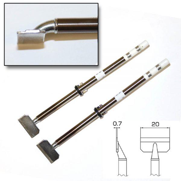 T16-1010 Hot Tweezer Tip for 20mm SOP Components