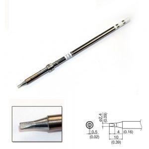 T17-D24 Chisel Soldering Tip 2.4mm x 10mm