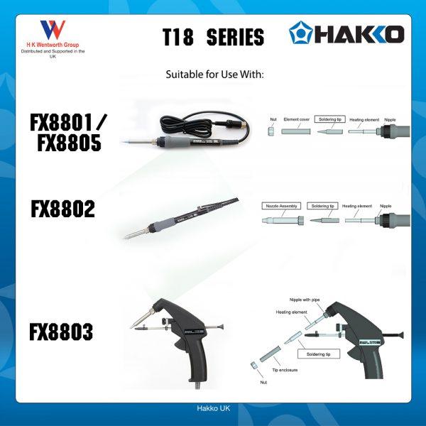 T18-B Conical soldering ironTip