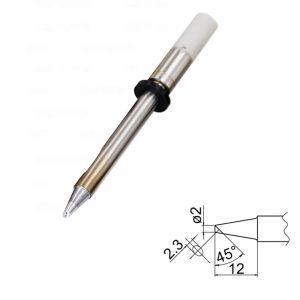 T20-BC2 Bevel Soldering Tip 2mm /45° x 12mm