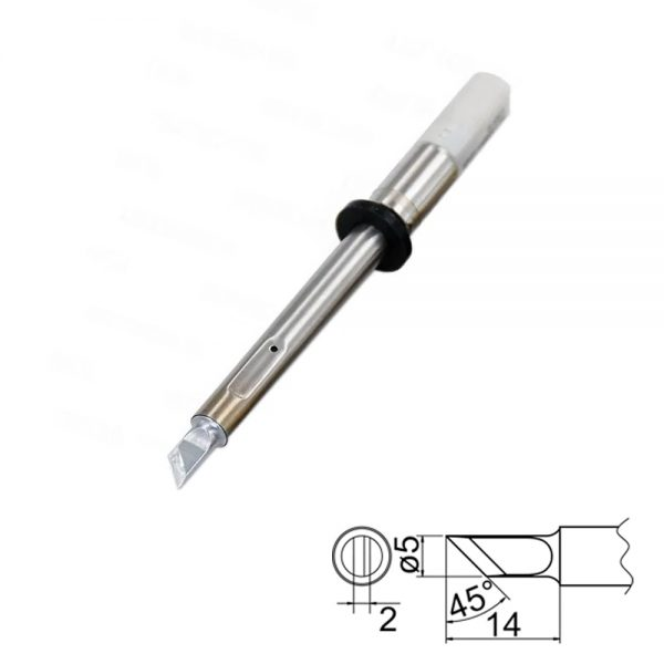 T20-K Knife Soldering Tip 5mm /45° x 14