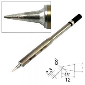 T22-D08 Chisel Soldering Tip 0.8mm x 12mm