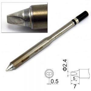 T22-D24 Chisel Soldering Tip 2.4mm x 7mm