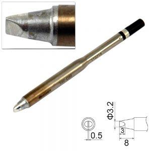 T22-D32 Chisel Soldering Tip 3.2mm x 8mm