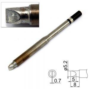 T22-D52 Chisel Soldering Tip 5.2mm x 8mm