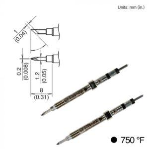T38-02K Micro Tweezer Tips