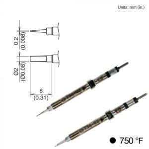 T38-02L2 Micro Tweezer Tips