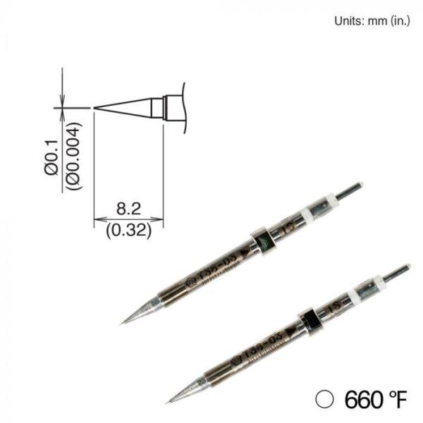T38-03IS Micro Tweezer Tips